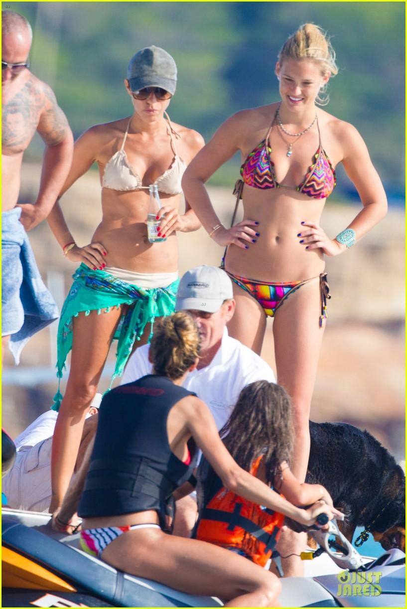bar refaeli bikini jet skiing babe in ibiza 062914837