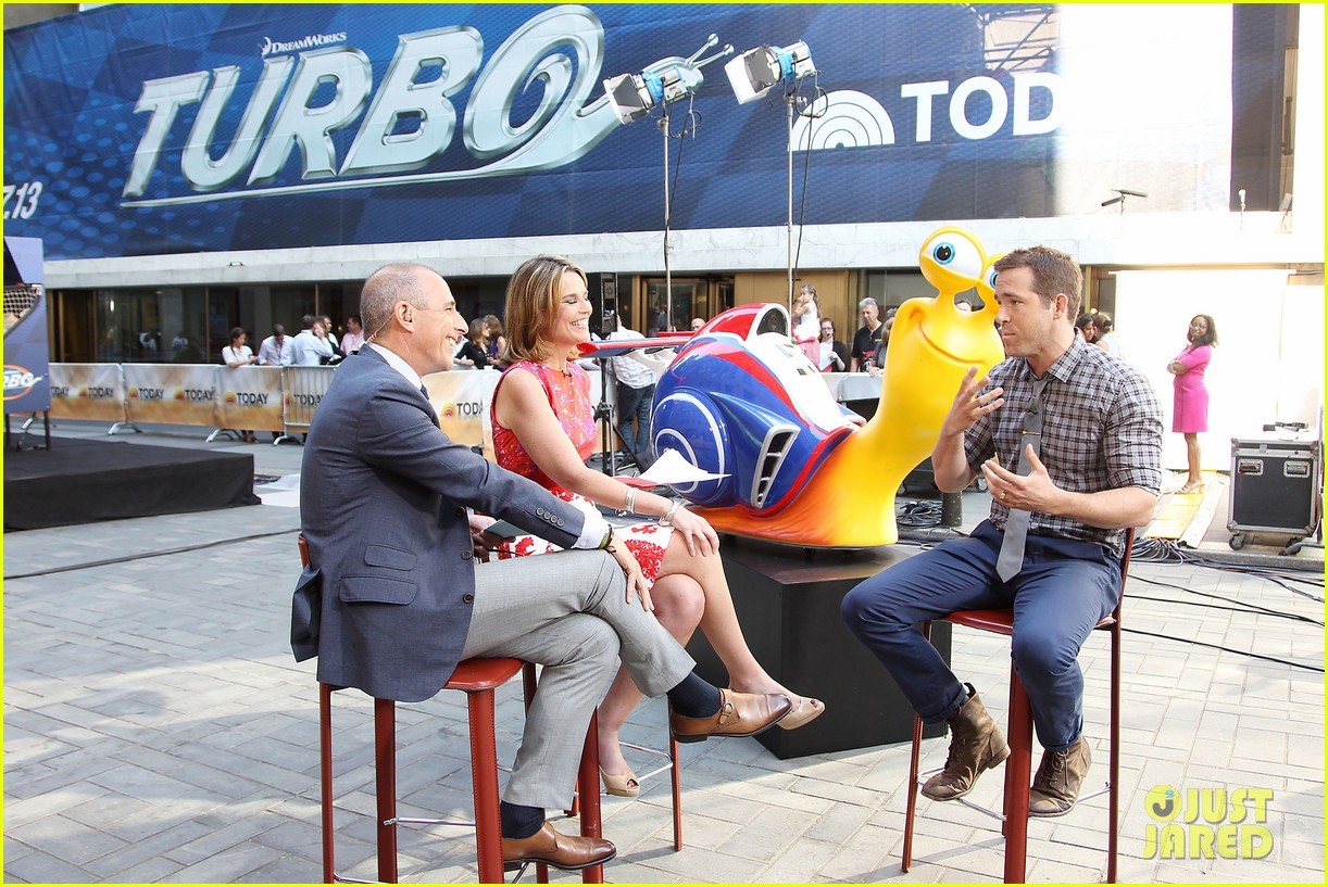 ryan reynolds turbo for today show 062906488