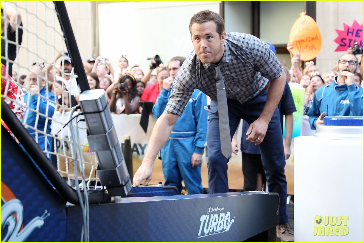ryan reynolds turbo for today show 23