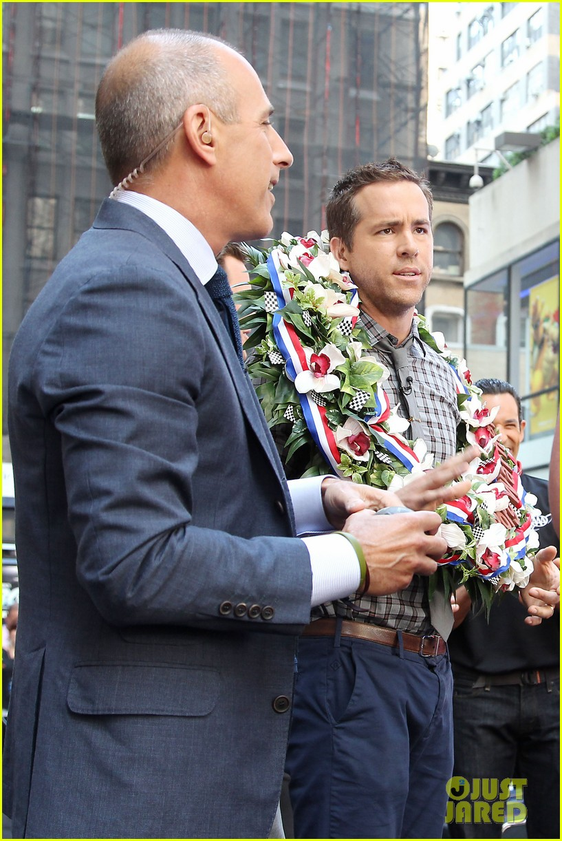 ryan reynolds turbo for today show 28