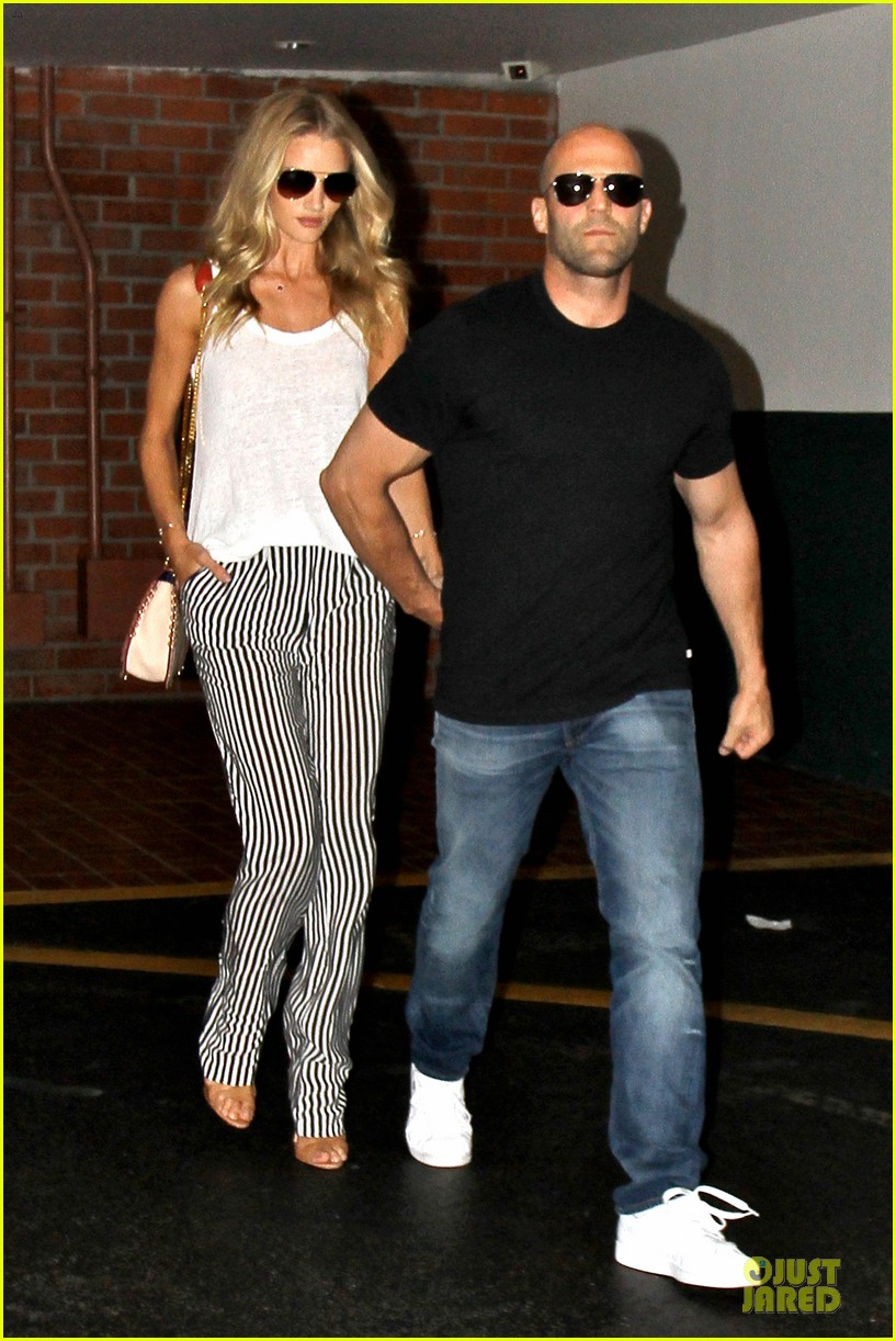 rosie huntington whiteley jason statham doctor appointment after lunch 012910599
