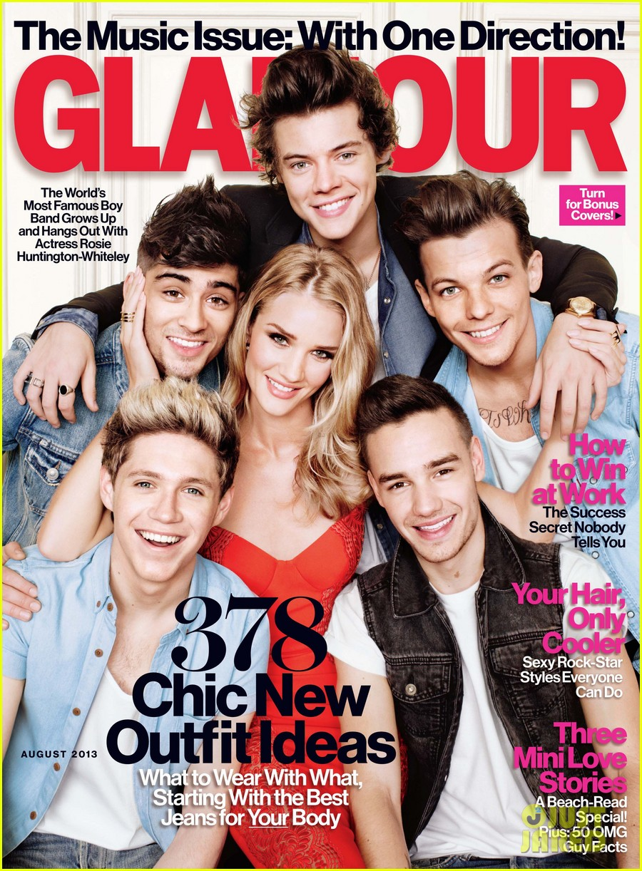 one direction rosie huntington whiteley cover glamour more pics 042902653