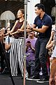 nicole richie dances with mario lopez on extra 01