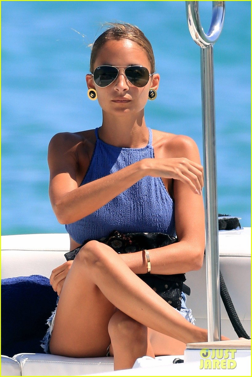 nicole richie wears bikini shops in saint tropez 092917541