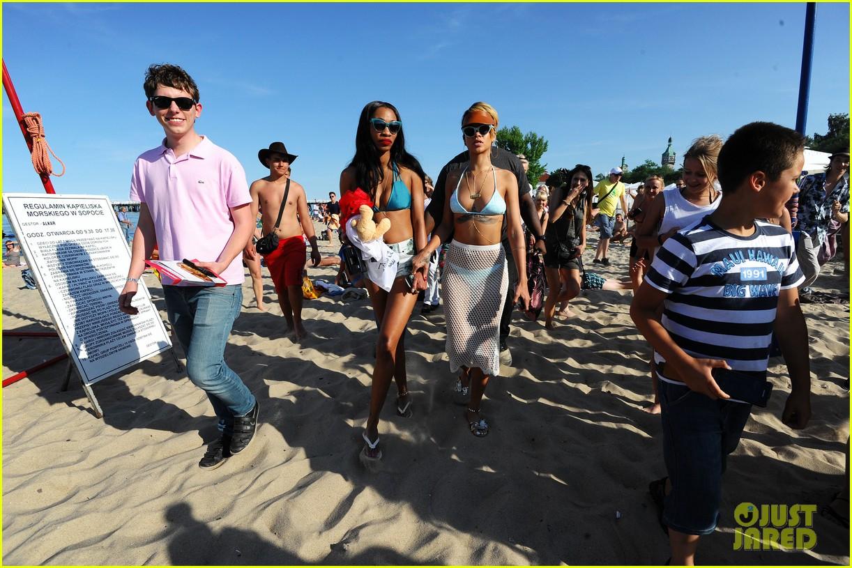 rihanna bikini babe in poland more 14