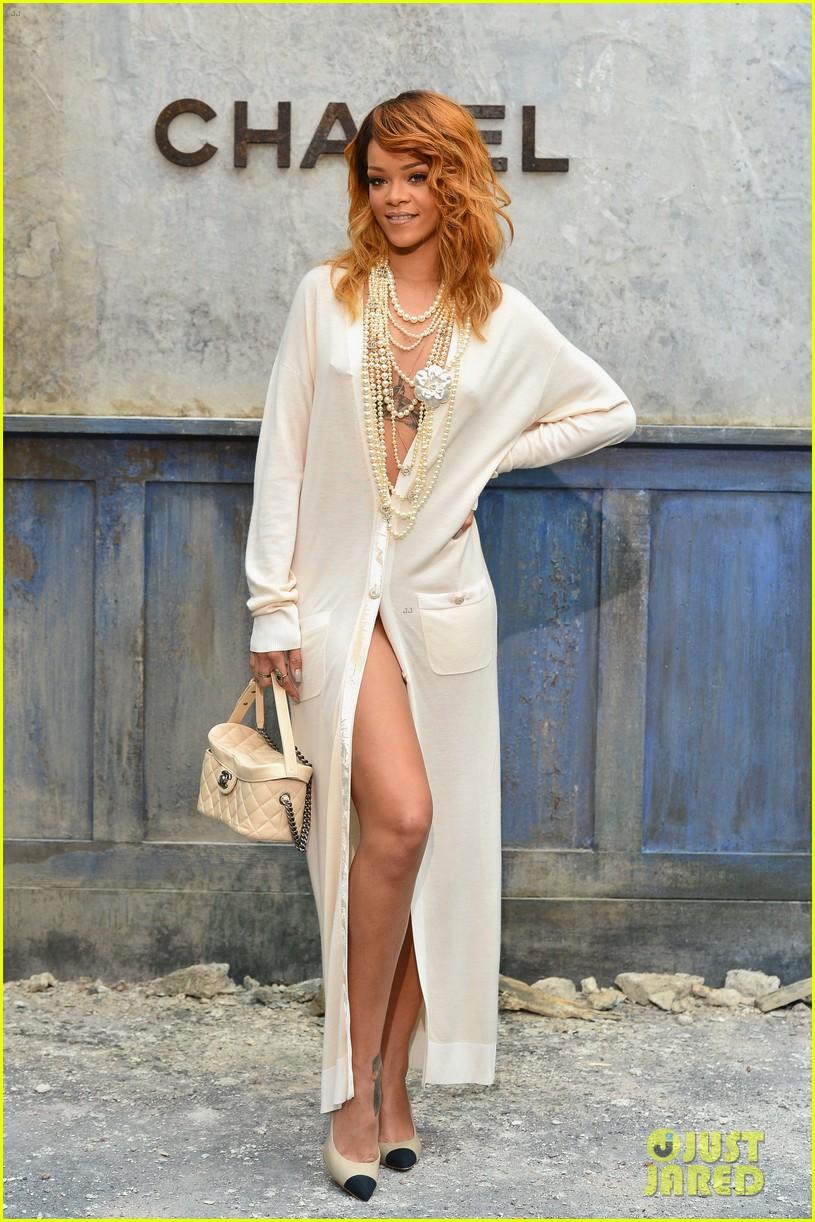 rihanna chanel haute couture fashion show 102902463