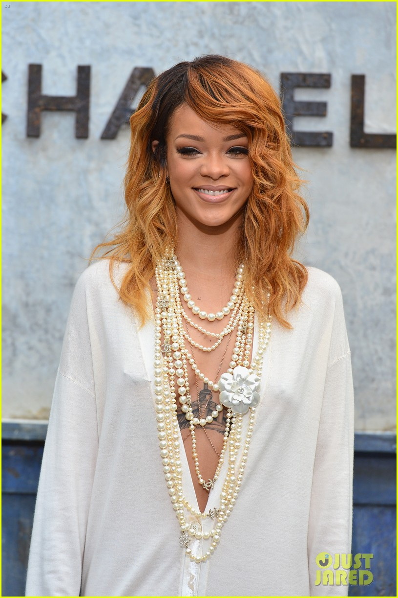 rihanna chanel haute couture fashion show 142902467