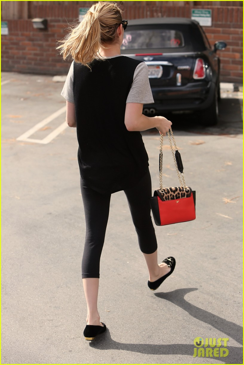 emma roberts steps out after evan peters domestic violence charges 172910898