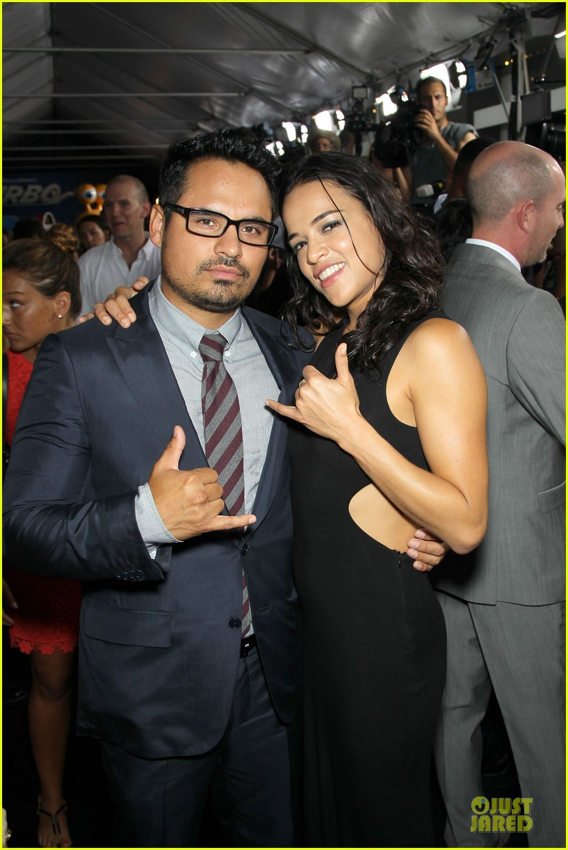 michelle rodriguez paul giamatti turbo nyc premiere 022906738