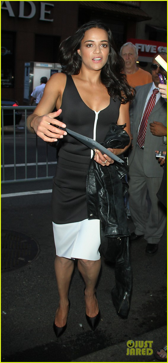 michelle rodriguez turbo promotion on today show 012906307