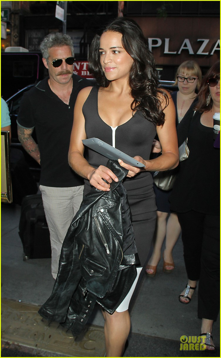 michelle rodriguez turbo promotion on today show 072906313