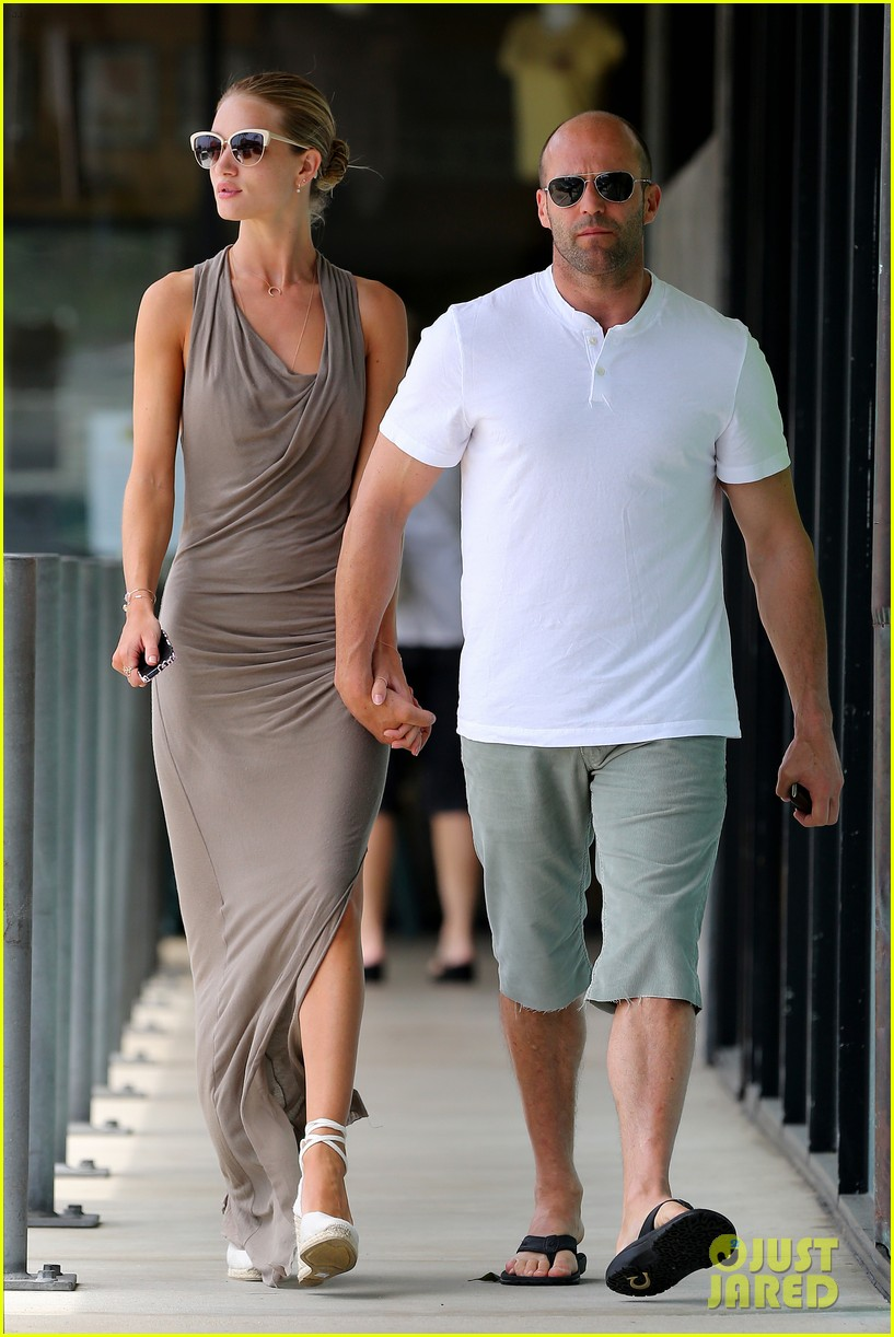 rosie huntington whiteley jason statham lunch lovers 09