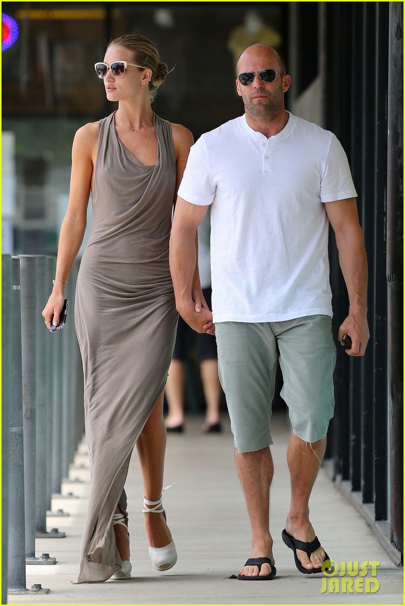 rosie huntington whiteley jason statham lunch lovers 10