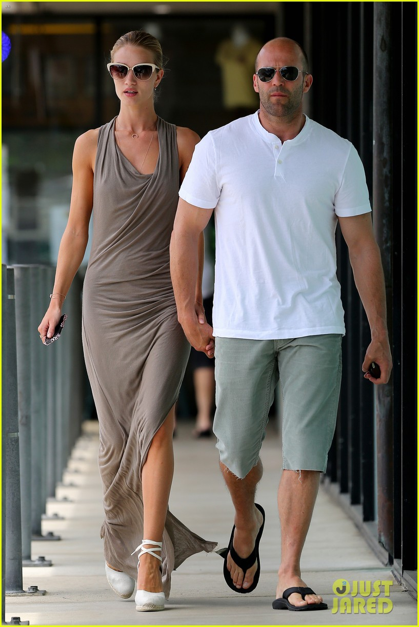 rosie huntington whiteley jason statham lunch lovers 122905026