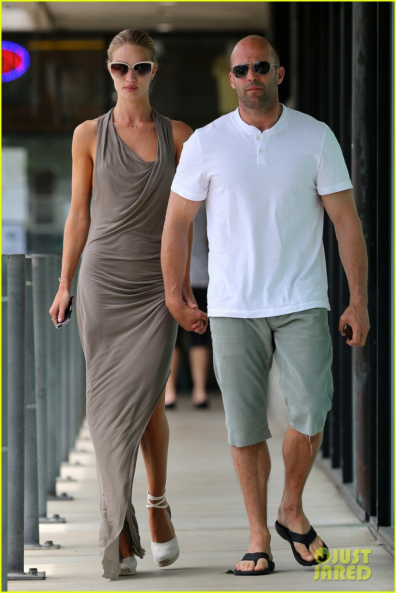 rosie huntington whiteley jason statham lunch lovers 14