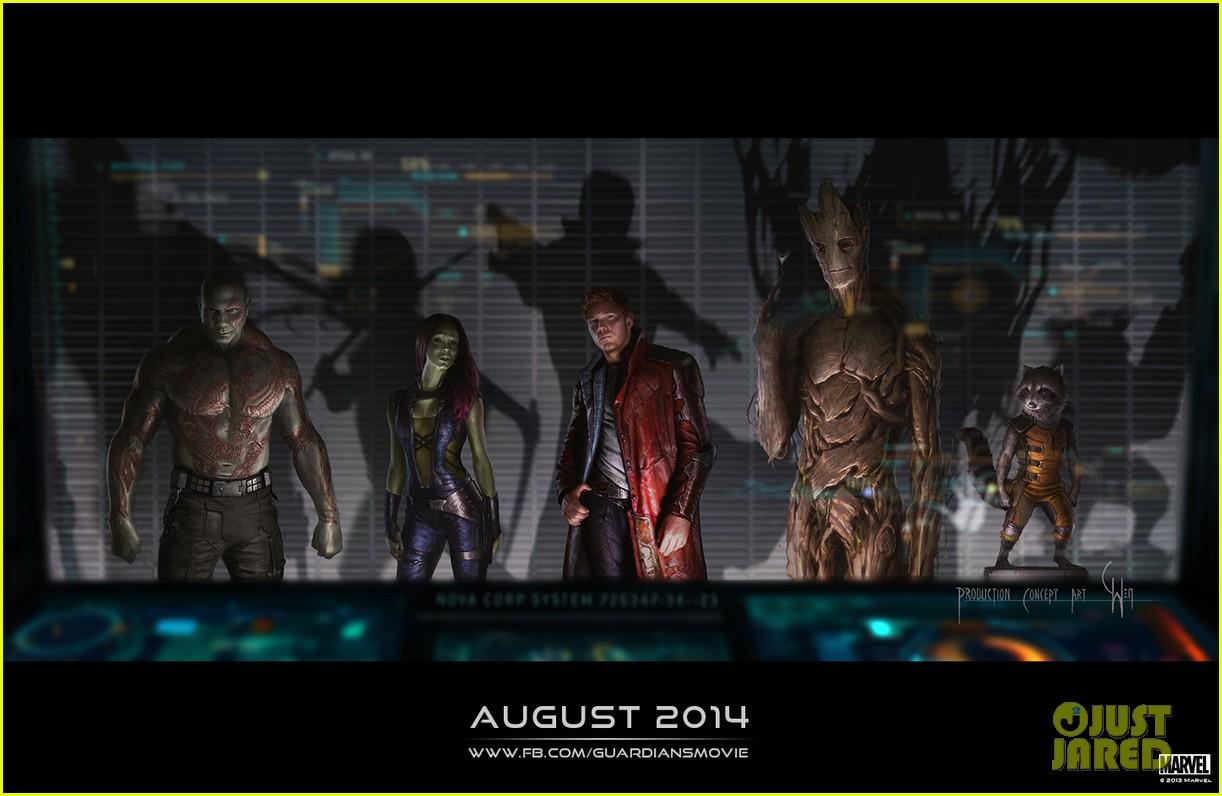chris pratt zoe saldana guardians of the galaxy comic con panel 032913465