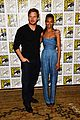 chris pratt zoe saldana guardians of the galaxy comic con panel 20