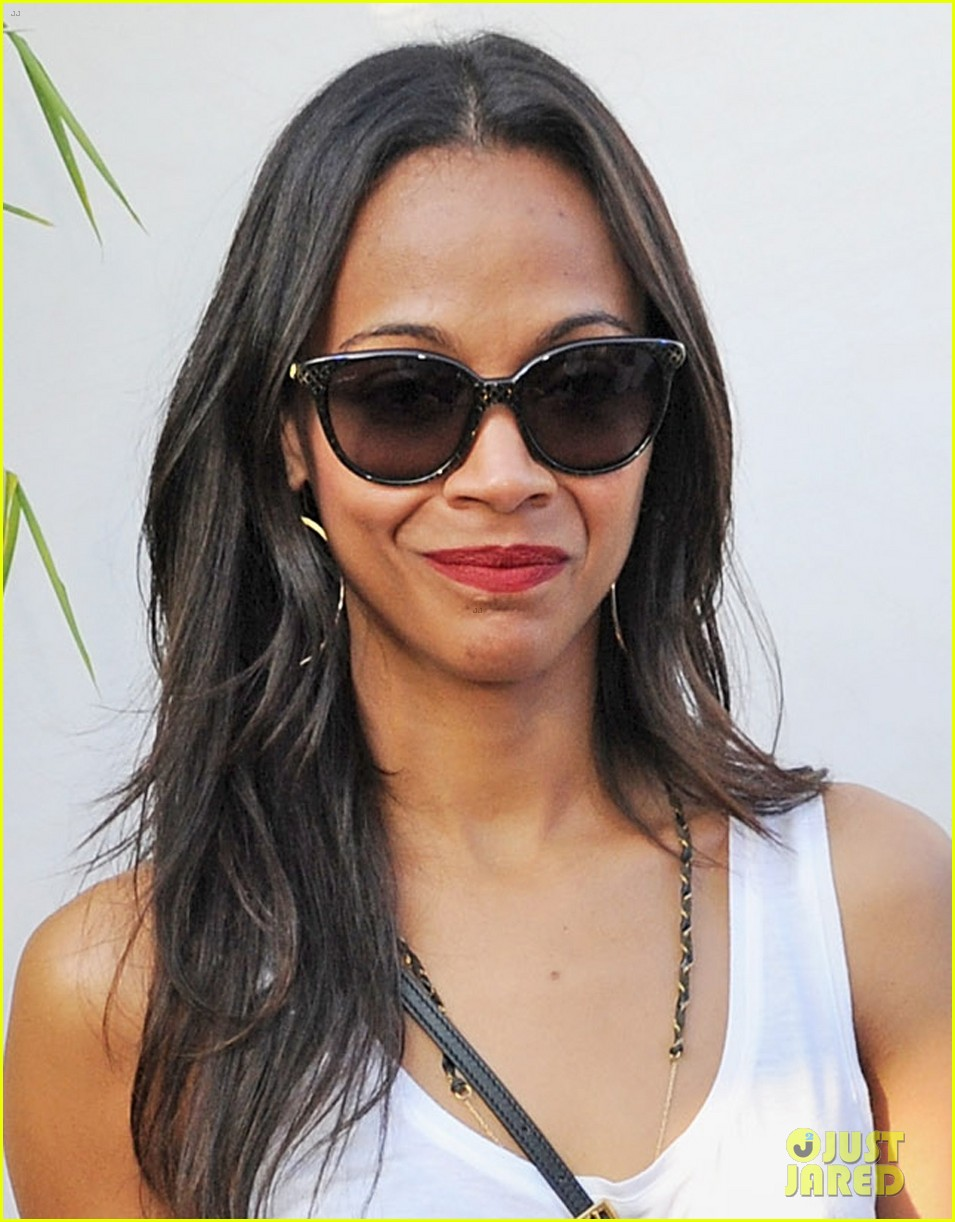 zoe saldana rolling stones at british summer time hyde park 032908896