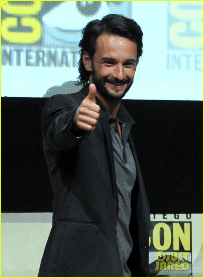 rodrigo santoro eva green 300 rise of an empire comic con panel 042913642