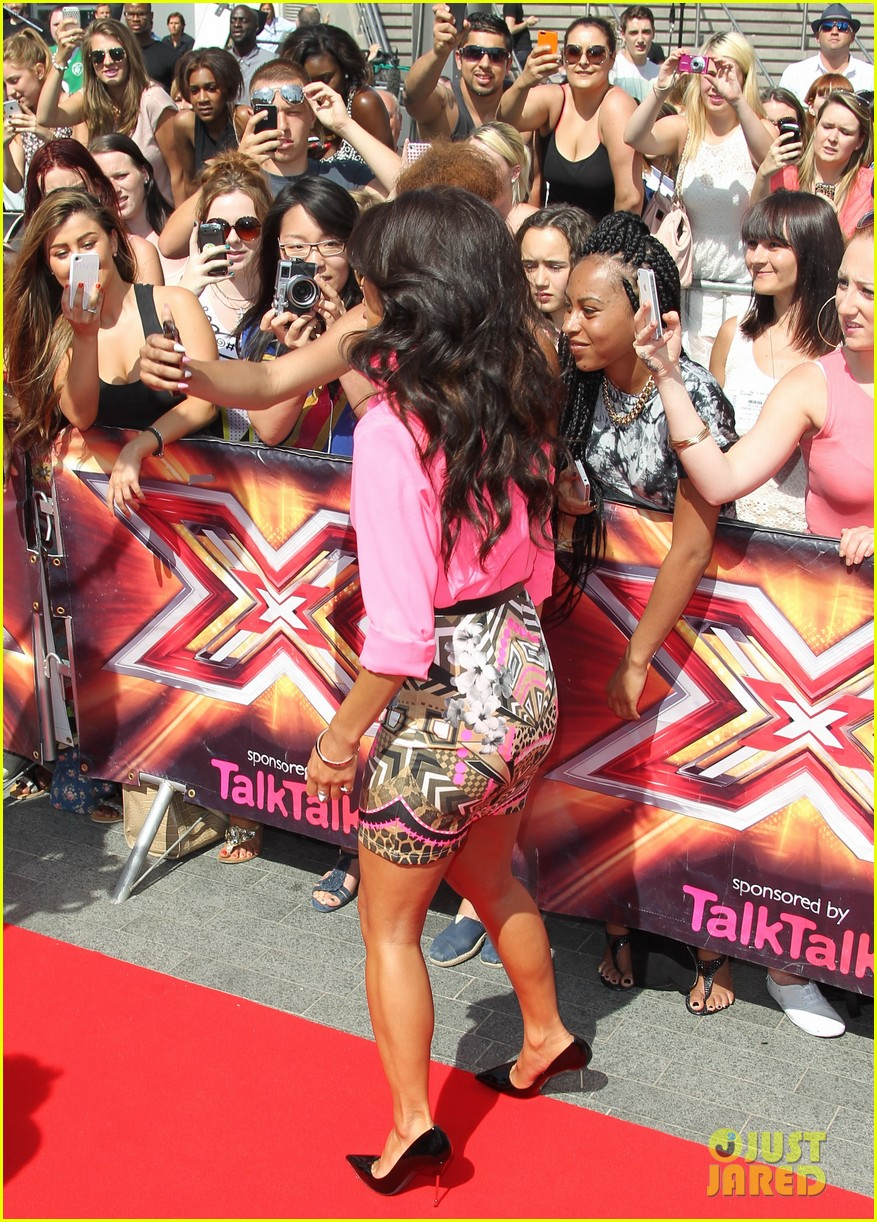 nicole scherzinger x factor uk london auditions 122909726