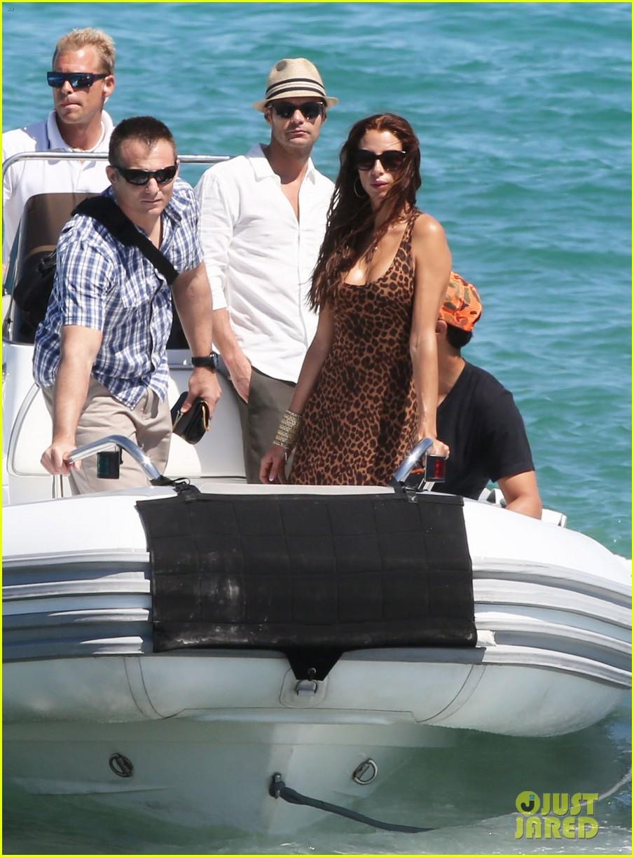 ryan seacrest dominique piek st tropez boat ride 052901883