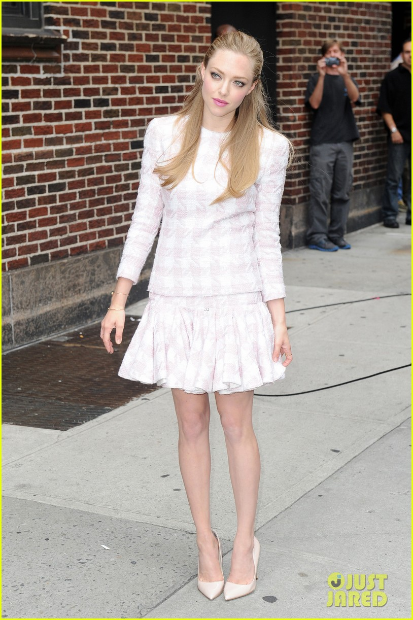 amanda seyfried lovelace promo work in new york 142920285
