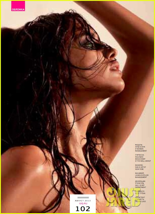 irina shayk covers gq russia exclusive 052911555