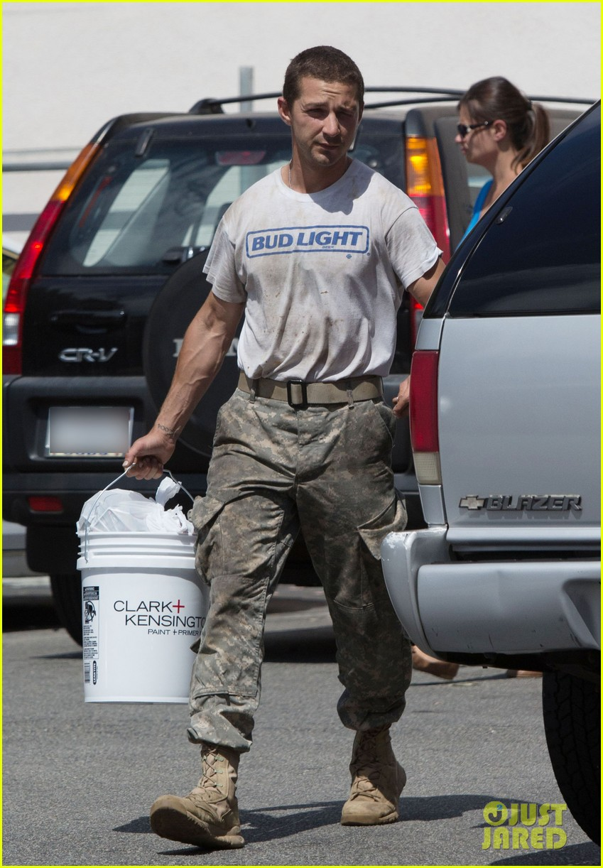 shia labeouf wears same outfit for third time in one week 012909630