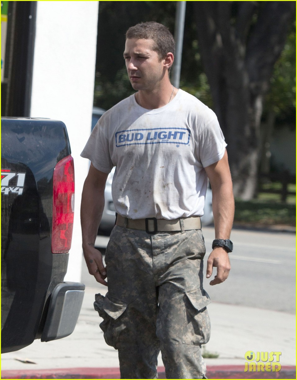 shia labeouf wears same outfit for third time in one week 022909631