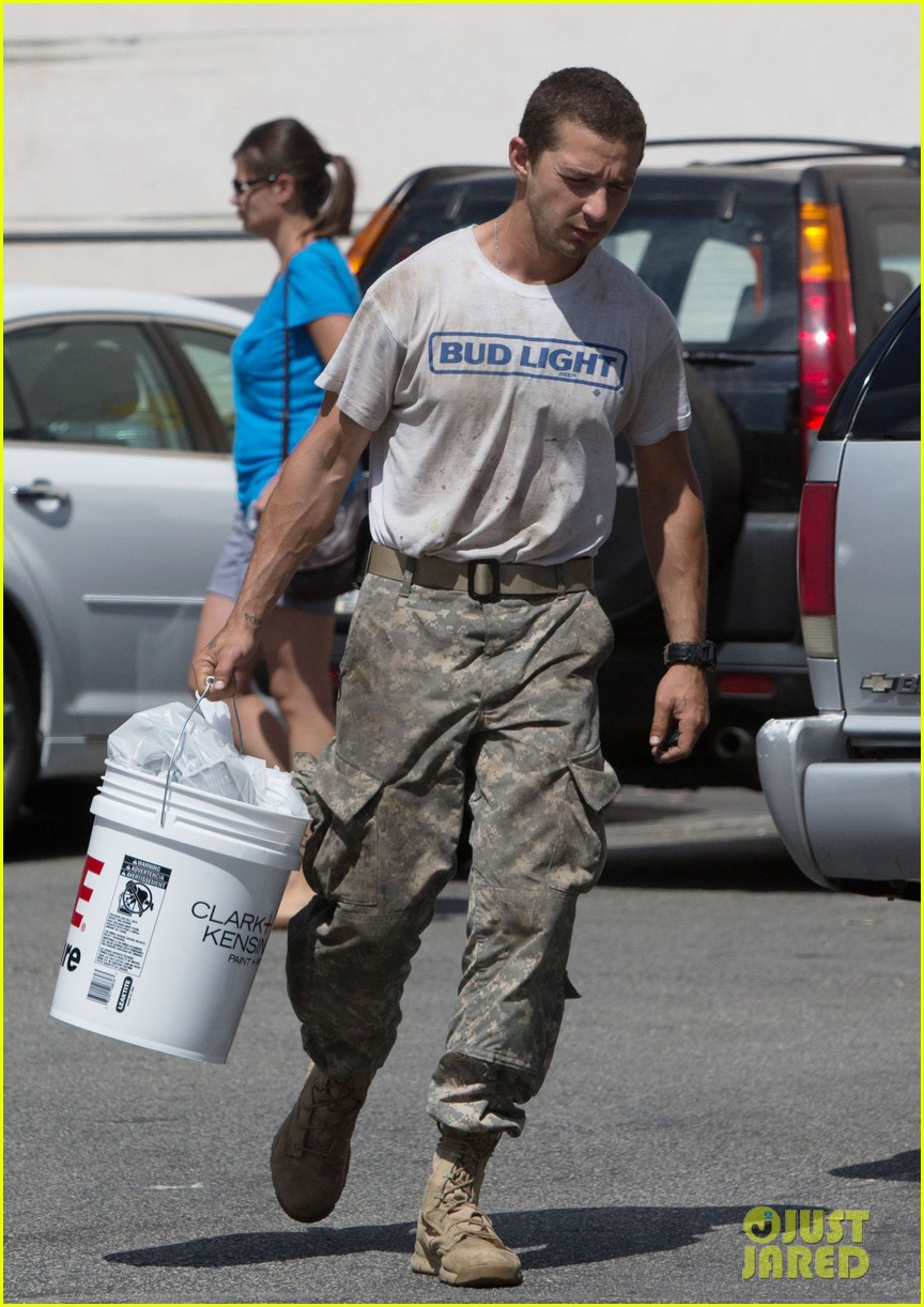 shia labeouf wears same outfit for third time in one week 032909632