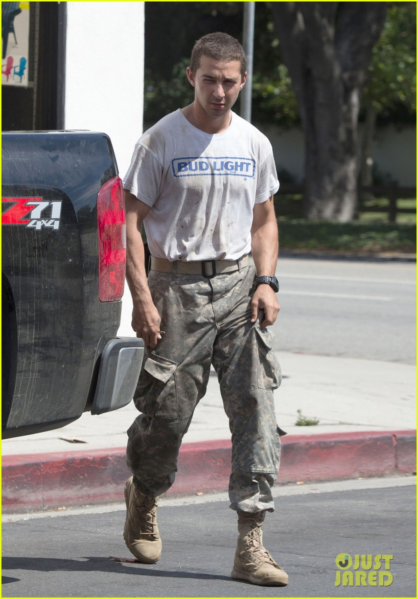 shia labeouf wears same outfit for third time in one week 042909633
