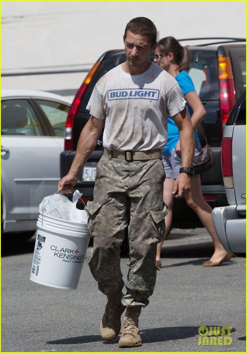 shia labeouf wears same outfit for third time in one week 062909635
