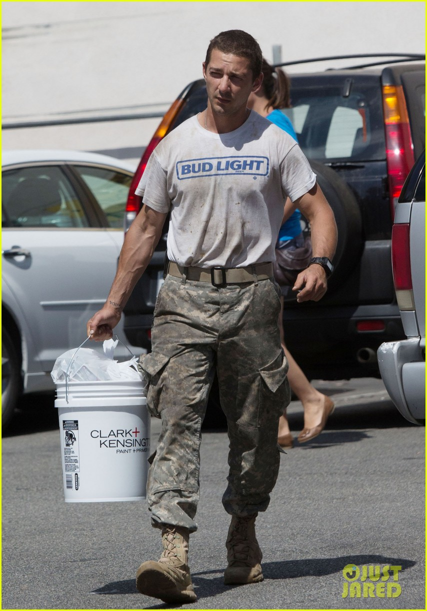 shia labeouf wears same outfit for third time in one week 072909636