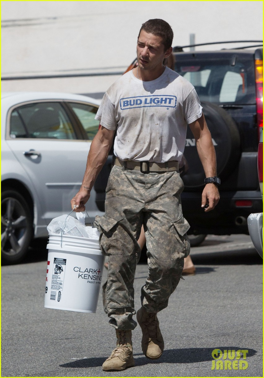 shia labeouf wears same outfit for third time in one week 082909637