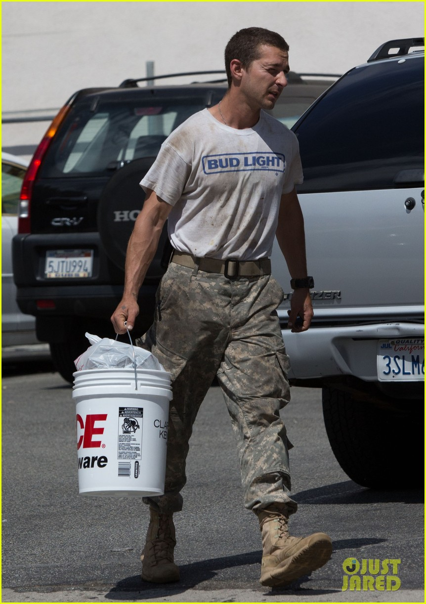 shia labeouf wears same outfit for third time in one week 092909638