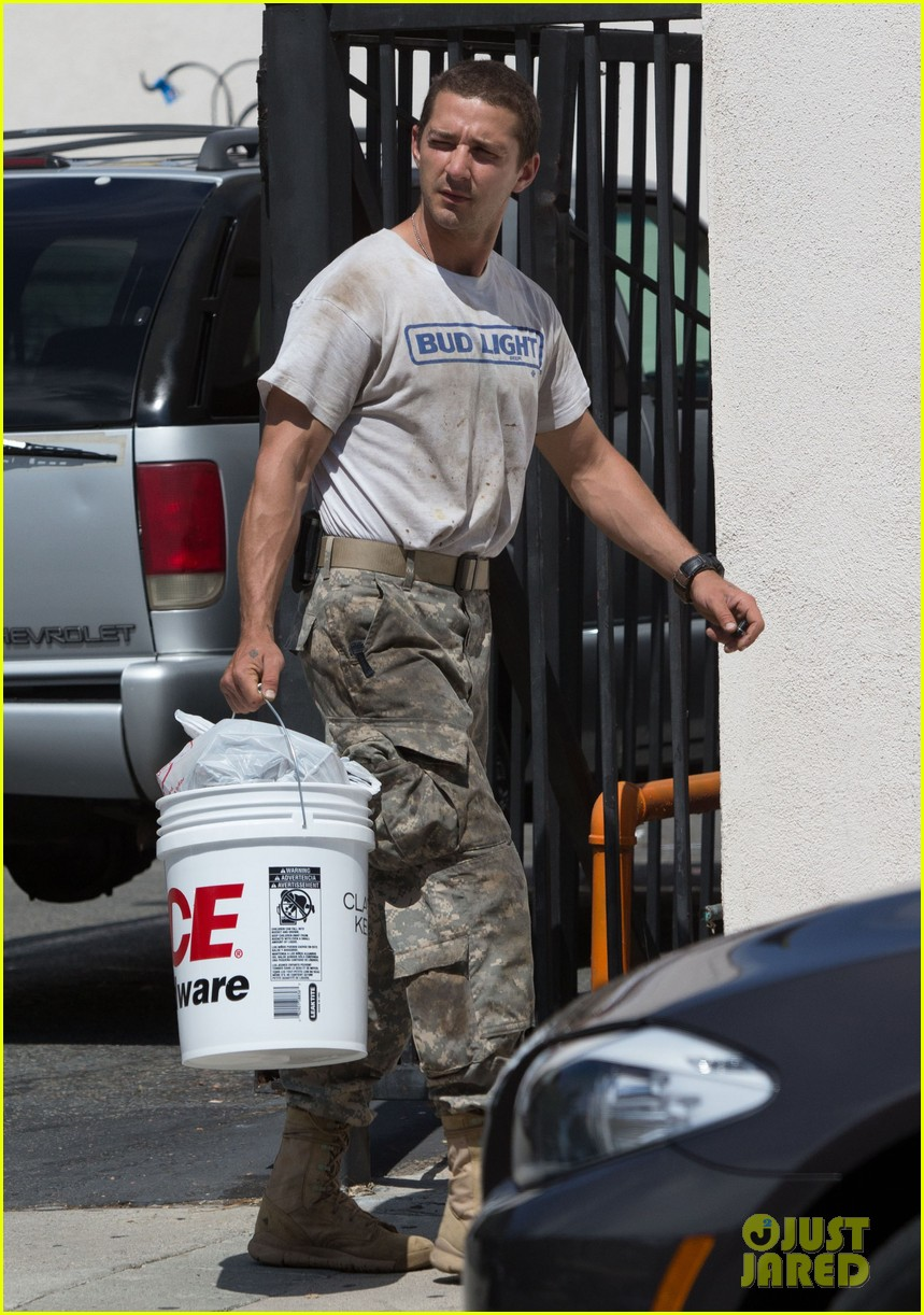 shia labeouf wears same outfit for third time in one week 122909641