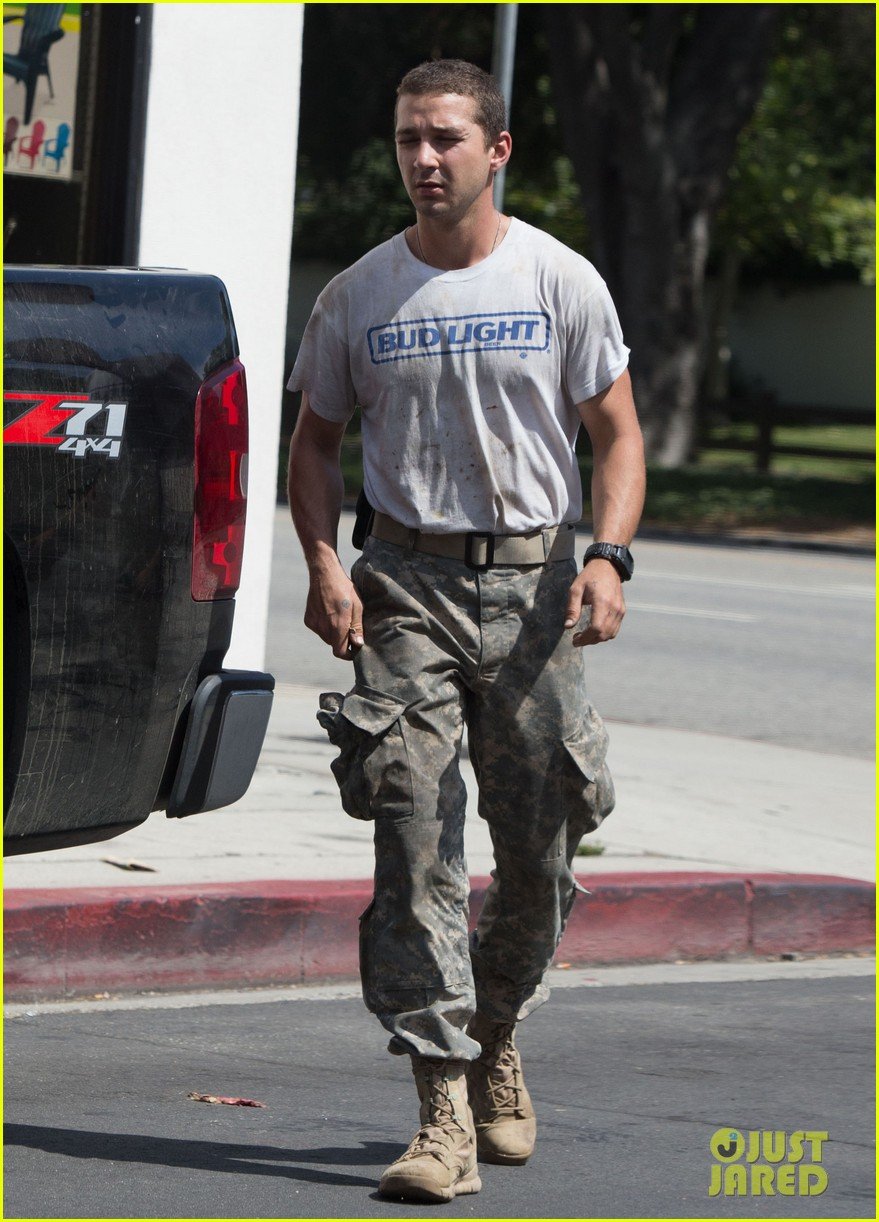 shia labeouf wears same outfit for third time in one week 142909643