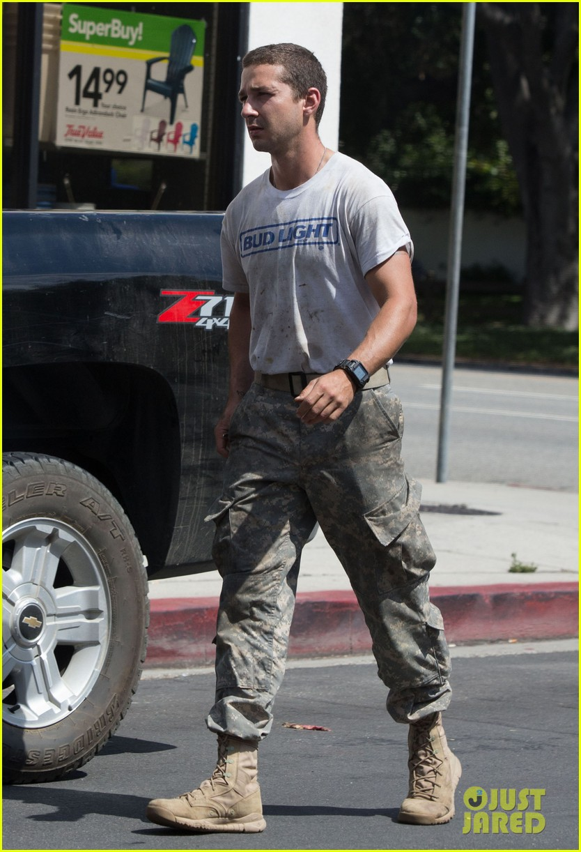 shia labeouf wears same outfit for third time in one week 152909644