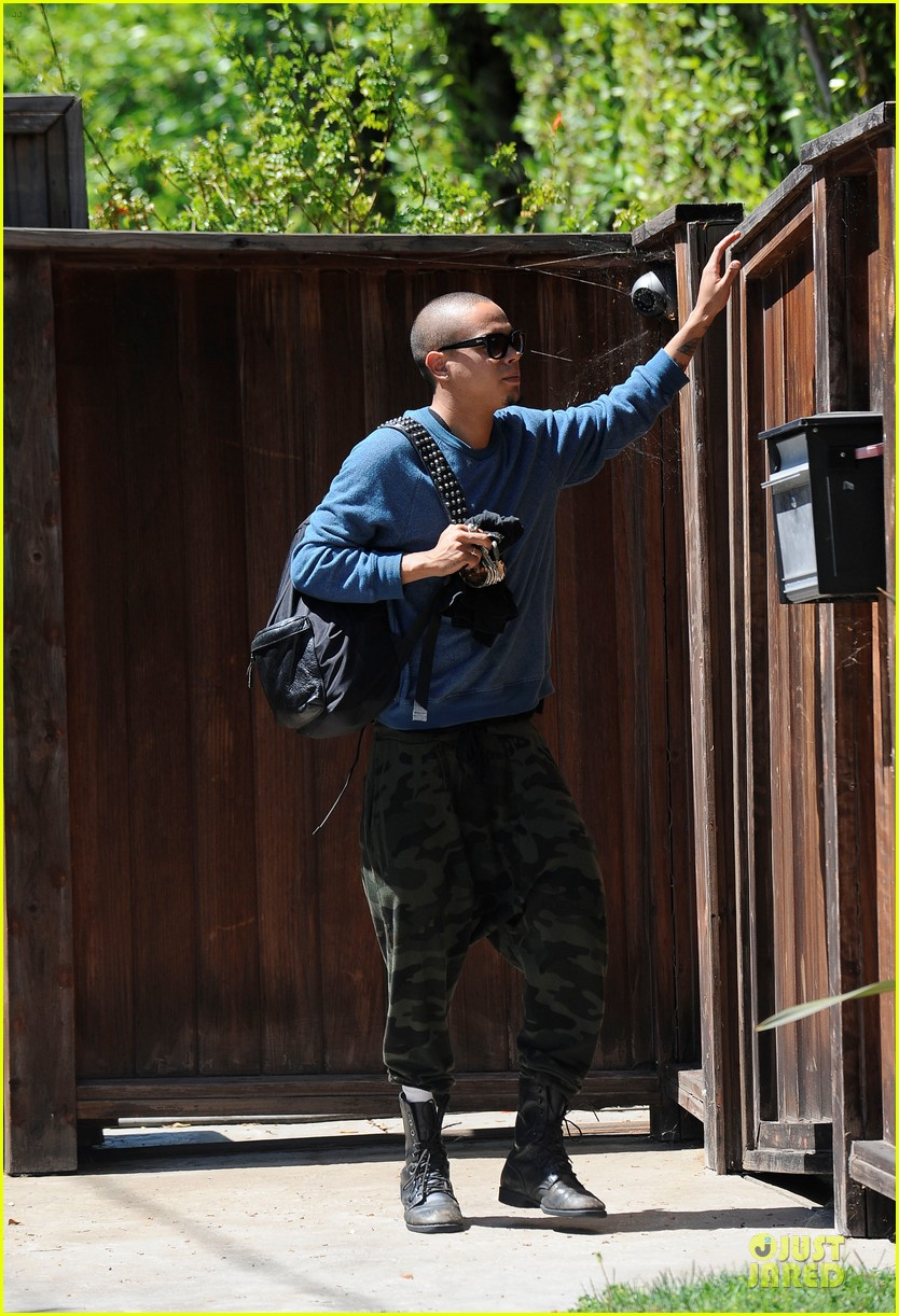 evan ross camouflages ashlee simpson house 09
