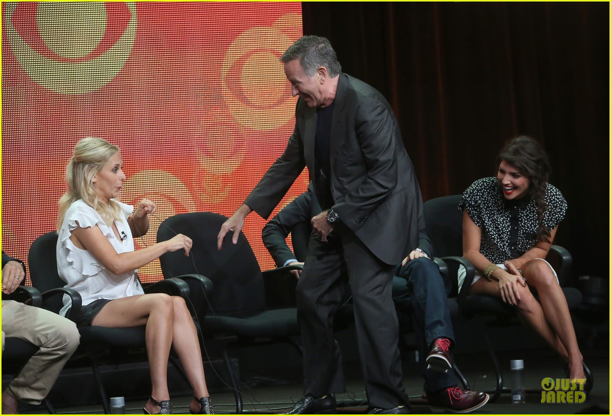 sarah michelle gellar the crazy ones at cbs summer tca tour 222919635