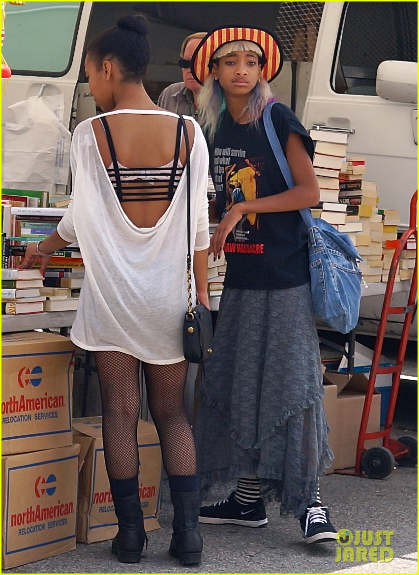 willow smith searches flea market for great finds 032919162