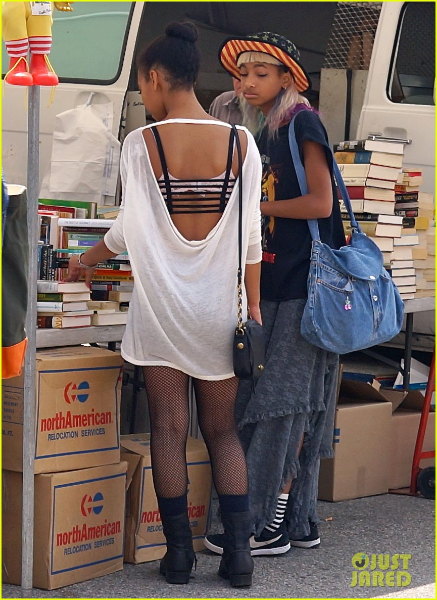 willow smith searches flea market for great finds 092919168