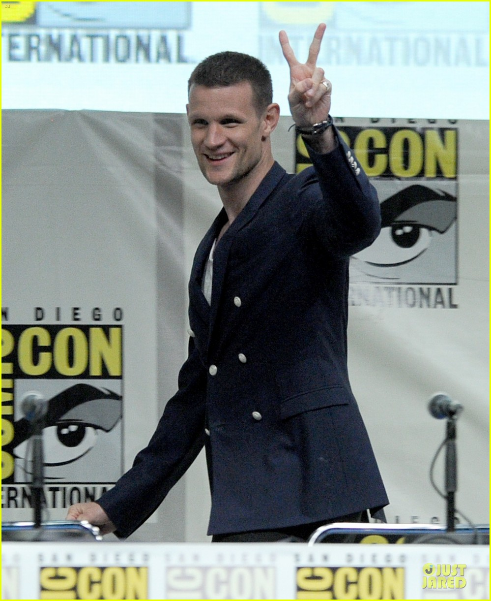 matt smith doctor who panel at comic con 022914130