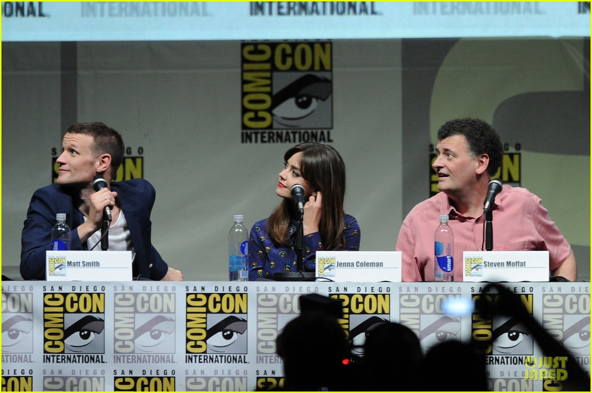 matt smith doctor who panel at comic con 122914140