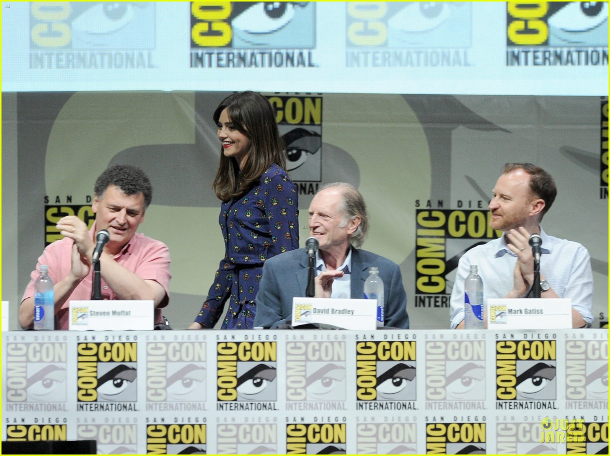 matt smith doctor who panel at comic con 152914143