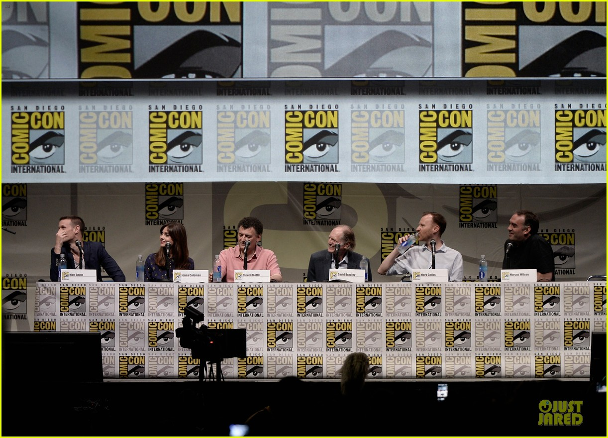 matt smith doctor who panel at comic con 172914145