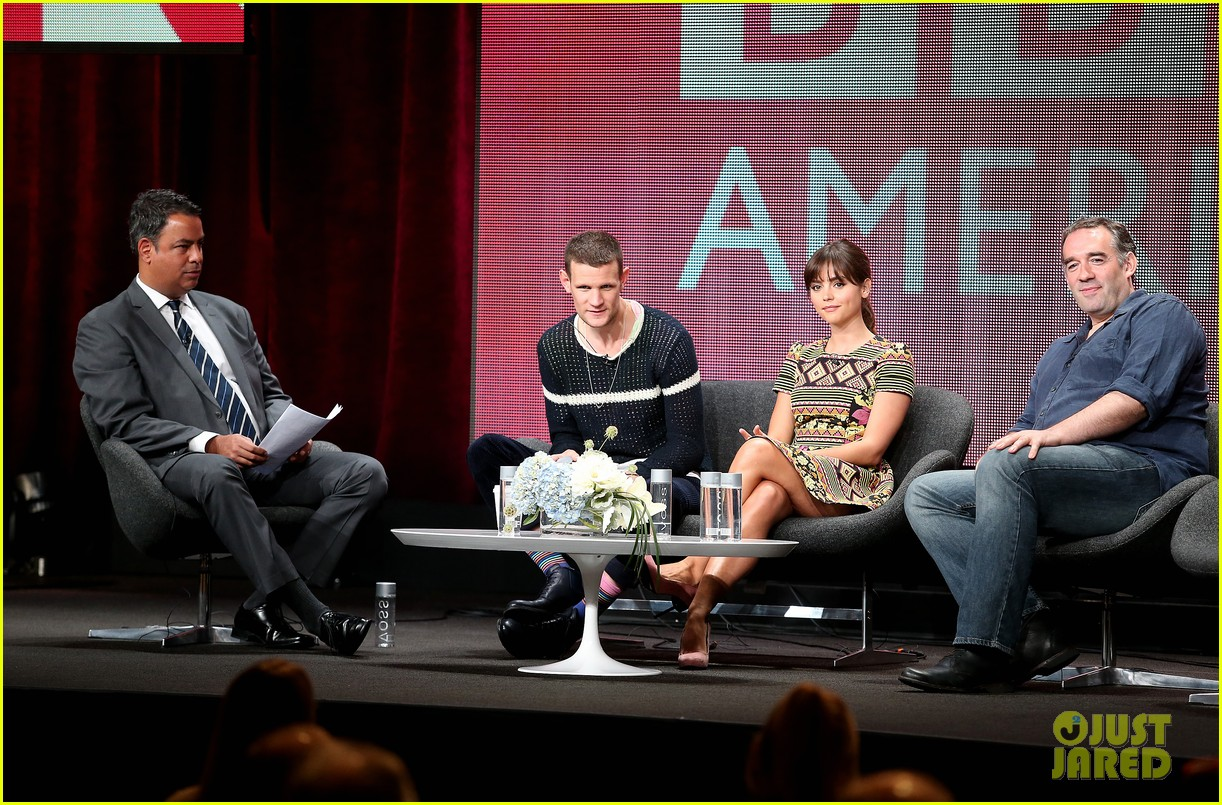 matt smith jenna louise coleman dr who tca panel 072916720