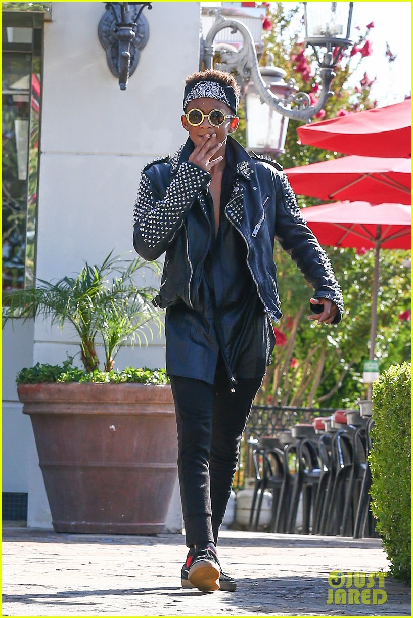 jaden smith rocker chic outfit for sugarfish dinner 092908776