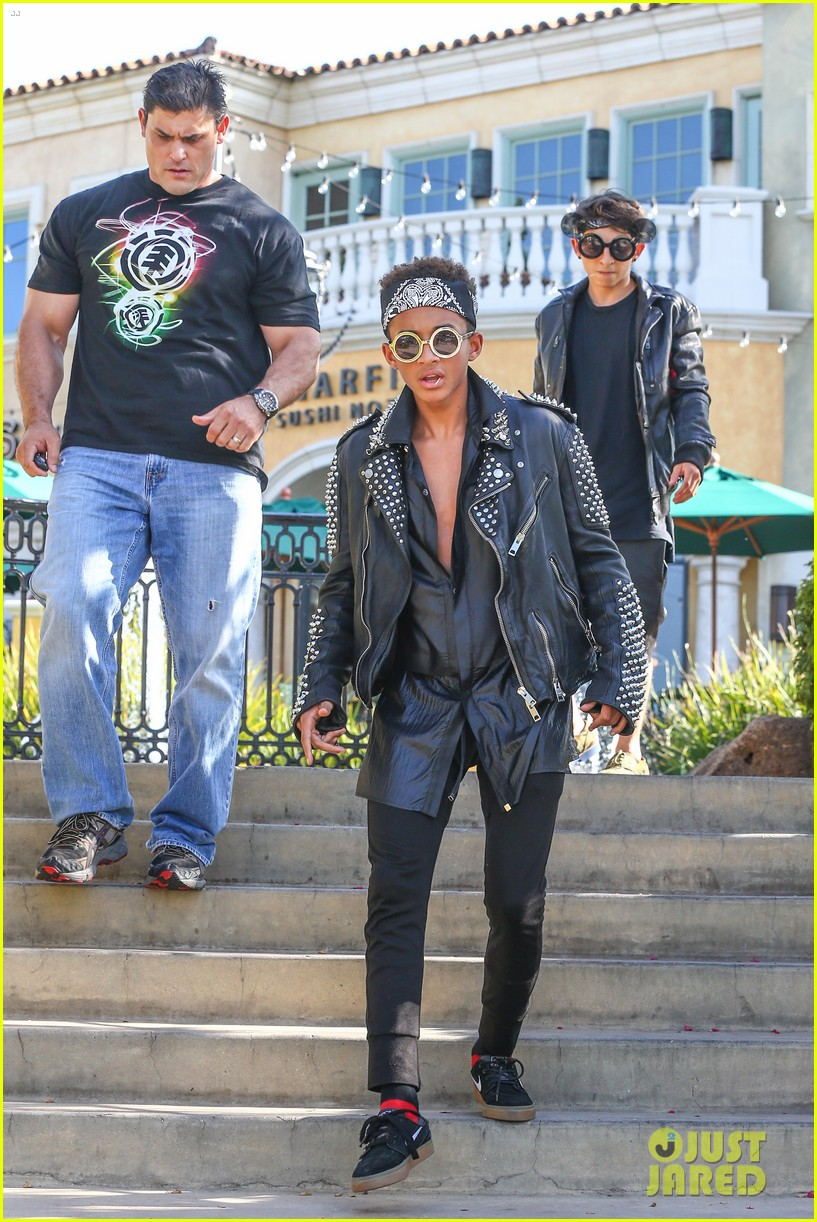 jaden smith rocker chic outfit for sugarfish dinner 142908781