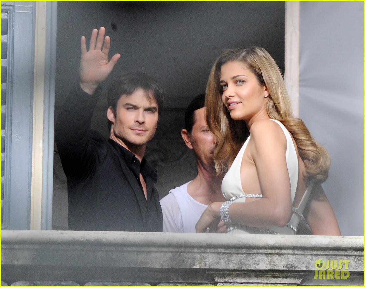 ian somerhalder gets steamy with brazilian model 022903326
